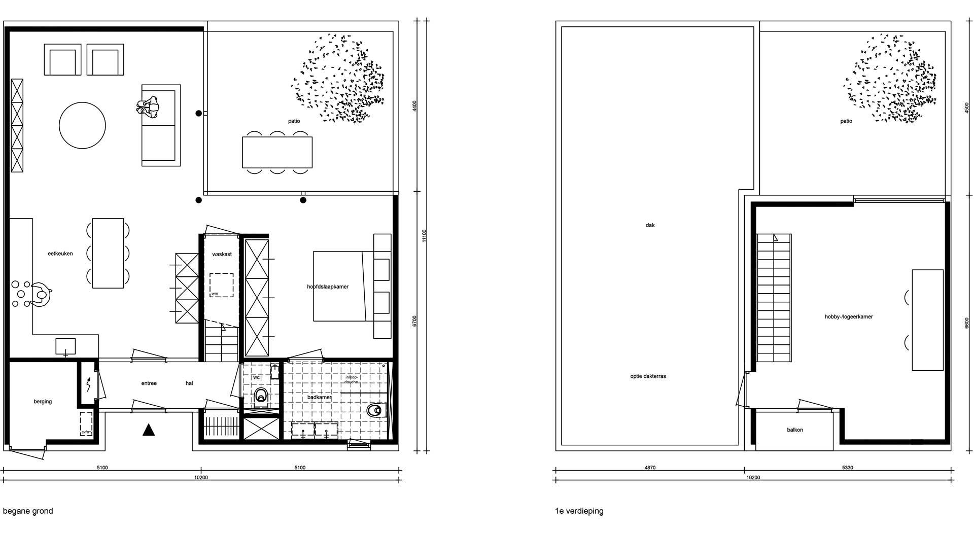 plattegronden-bungalow-compact1